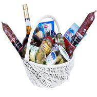 """Food basket to buy"" in the online flower shop df.ua"
