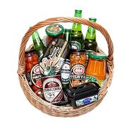Grocery basket as a gift to a man - flowers and bouquets on df.ua