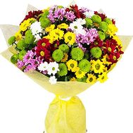 Multicolored bouquet of chrysanthemums - flowers and bouquets on df.ua