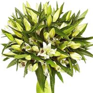 Chic bouquet of lilies - flowers and bouquets on df.ua