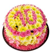 Cake of flowers to buy - flowers and bouquets on df.ua