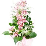 Orchid pink branch in bouquet - flowers and bouquets on df.ua