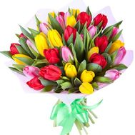Bright tulips - flowers and bouquets on df.ua