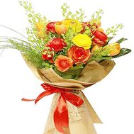 Bright bouquet of Ranunculus - flowers and bouquets on df.ua