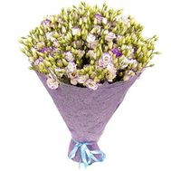 Bouquet of white-blue eustoma - flowers and bouquets on df.ua