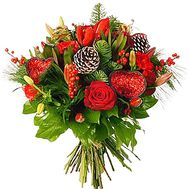 Bouquet for Christmas - flowers and bouquets on df.ua