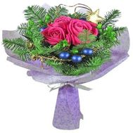 A bouquet for Christmas with a Christmas tree - flowers and bouquets on df.ua