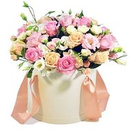 Bouquet in a Hat Box - flowers and bouquets on df.ua