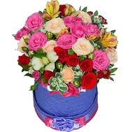 Flowers in the box for mom - flowers and bouquets on df.ua