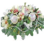 Композиция новогодняя - цветы и букеты на df.ua