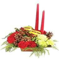 Composition of candles - flowers and bouquets on df.ua