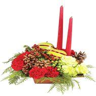 Композиция из свечами - цветы и букеты на df.ua
