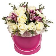 Коробка квітів - цветы и букеты на df.ua