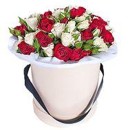 Коробка с цветами - цветы и букеты на df.ua