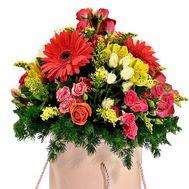 Коробка с цветами купить - цветы и букеты на df.ua