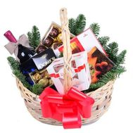 Basket for the New Year - flowers and bouquets on df.ua