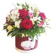 Квіти в коробці - цветы и букеты на df.ua