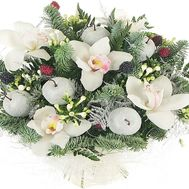 New Year bouquet of flowers - flowers and bouquets on df.ua