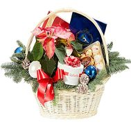 New Year gift basket - flowers and bouquets on df.ua