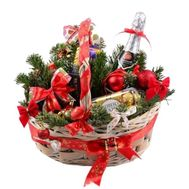 Gift basket for the New Year - flowers and bouquets on df.ua