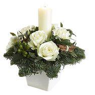 Рождественская композиция - цветы и букеты на df.ua