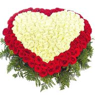 301 rose heart - flowers and bouquets on df.ua