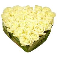 Flower Arrangement in Heart Shape - flowers and bouquets on df.ua