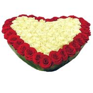 Roses for Valentine`s Day - flowers and bouquets on df.ua