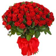 101 red rose 40 cm - flowers and bouquets on df.ua