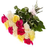15 roses 90 cm - flowers and bouquets on df.ua
