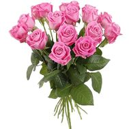 """19 pink roses"" in the online flower shop df.ua"