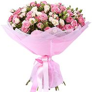 25 cluster roses - flowers and bouquets on df.ua