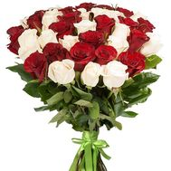 25 roses 90 cm - flowers and bouquets on df.ua