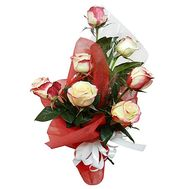 7 roses 70 cm - flowers and bouquets on df.ua