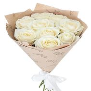 9 white roses - flowers and bouquets on df.ua