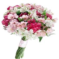 Alstroemeria in bouquet - flowers and bouquets on df.ua