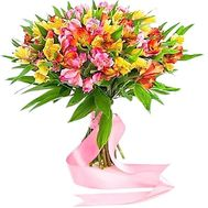 Alstroemeria bouquet - flowers and bouquets on df.ua