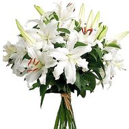 White lilies bouquet - flowers and bouquets on df.ua