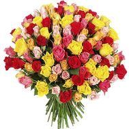 Большой букет роз - цветы и букеты на df.ua