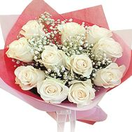 11 white roses - flowers and bouquets on df.ua