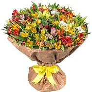 Bouquet of 101 alstroemerias - flowers and bouquets on df.ua