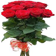 11 red roses - flowers and bouquets on df.ua
