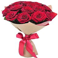 15 red roses - flowers and bouquets on df.ua