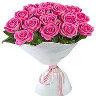 15 розовых роз - цветы и букеты на df.ua