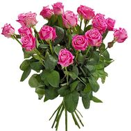 17 pink roses - flowers and bouquets on df.ua