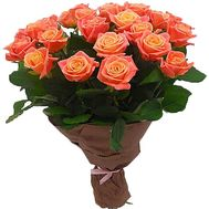 """""""21 роза мисс пигги"""" в интернет-магазине цветов df.ua"""
