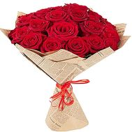 """23 red roses"" in the online flower shop df.ua"
