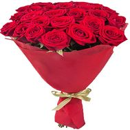 """""""25 red roses"""" in the online flower shop df.ua"""