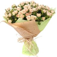 Bouquet of 25 cream spray roses - flowers and bouquets on df.ua