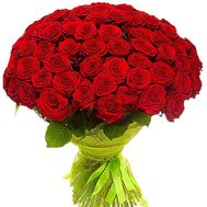 """55 red roses"" in the online flower shop df.ua"